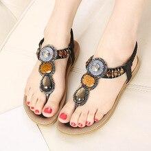 2016 NEW fashion women Sandals string bead summer stylish breathable ladies flat Sandals