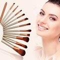 12pcs/Set  Pro Makeup Cosmetic  Brushes Powder Foundation Eyeshadow Lip Brush