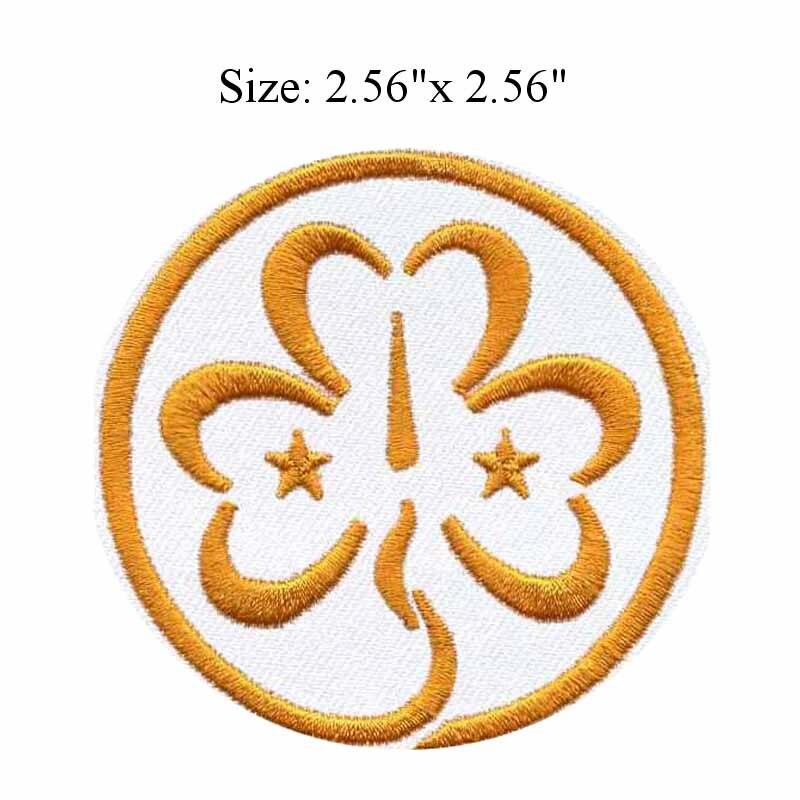 4278ee280bb1b Chanceux jaune fleur 2.56 large broderie patch pour artisanat tissu patch  brodé appliques