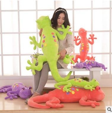 new arrival creative cartoon lizard plush toy soft throw pillow,surprised birthday gift h2988 creative simulation plush soft fox naruto toy polyethylene