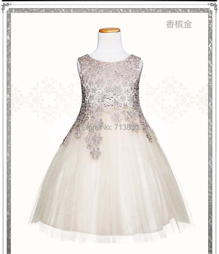 [Eleven Story] Girls summer baby princess party tutu dresses kids ball grown tulle clothes  A504DS-48