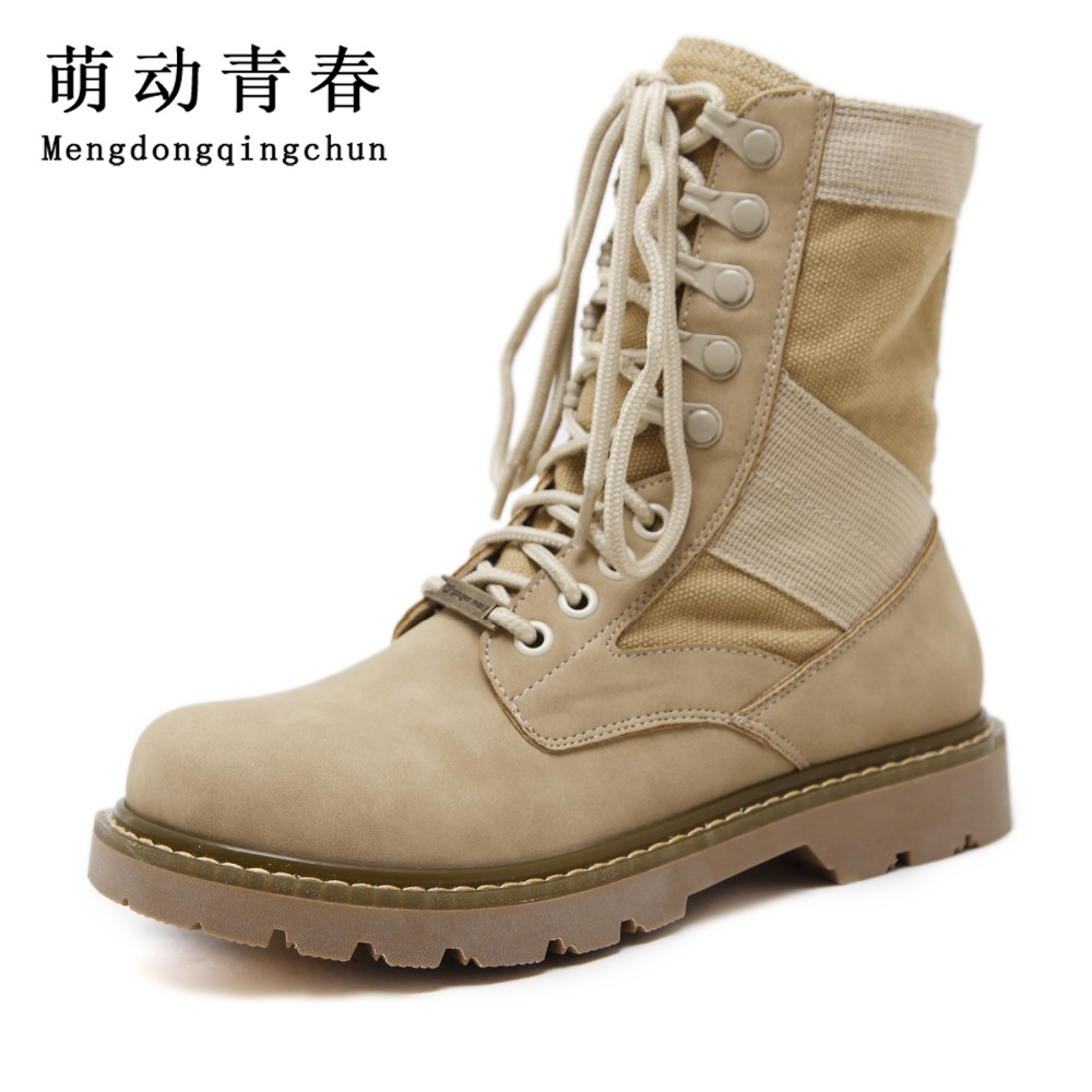2017 Fashion Style Women Chelsea Boots Women Round Toe Mid-Calf Boots Women Mix color Lace up boots double buckle cross straps mid calf boots