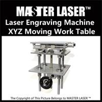 Separate 3 Axis Moving Table Laser Marking Engraving Machine 330 250mm 300 Mm Height Adjust Portable