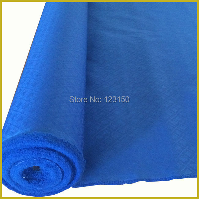 ZB-023-1 Blue Poker Table Waterproof Suited Speed Cloth, Width 1.5M