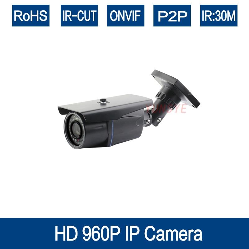 YUNSYE H.264 1.3MP Security IP Camera Outdoor CCTV Full HD 960P 1.3 Megapixel Bullet Camera IP 960P Lens IR Cut Filter ONVIF security ip camera outdoor h 264 2mp onvif 2 0 cctv full hd 1080p 2 0megapixel dome 2 8mm lens wide angle ir cut filter