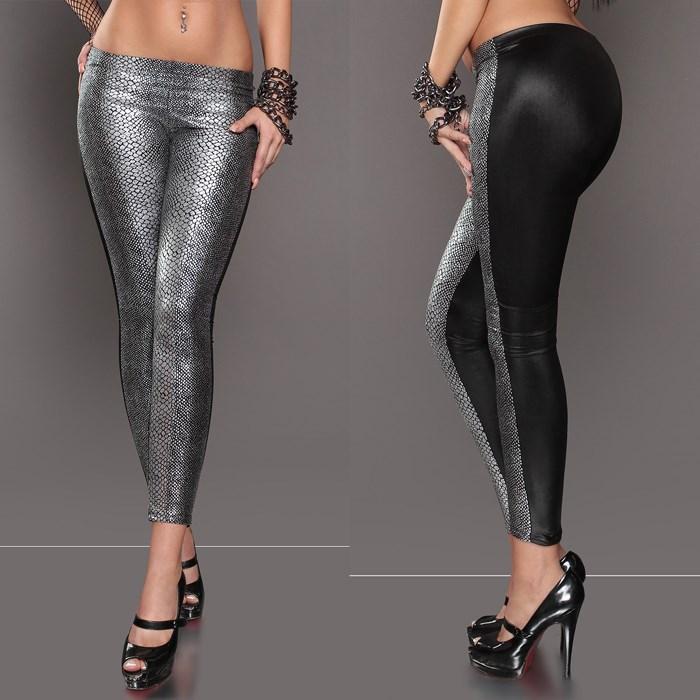 Aliexpress.com : Buy Free Shipping black silver golden leggings ...