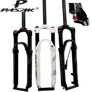 Велосипедная вилка PASAK для горных велосипедов, 26 дюймов, 27,5 дюймов, 29 дюймов, MTB, амортизирующая передняя вилка с пультом управления HL RL