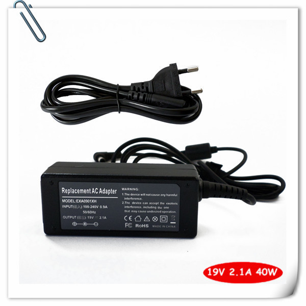 Ac Adapter Laptop Charger for Samsung Netbook 19v 2.1A 40W N130 N140 N150 N210 N220 N510 NP-N110 NP-N130 NP-N140 NP-N150 New