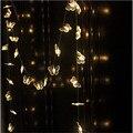 50 LEDs Borboleta led Luzes Da Corda luzes Da Decoração de iluminação led Da Bateria Luzes De Natal Festa de Casamento Férias Decotation