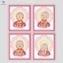 buy buddhist cross stitch kit and get free shipping on aliexpress com