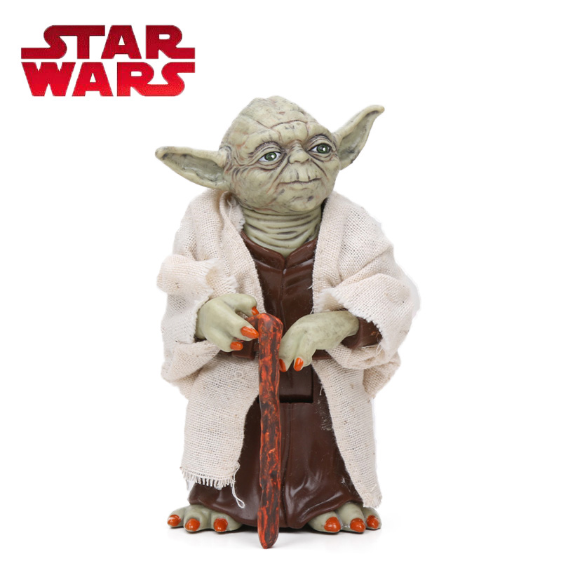 12cm Star Wars Toy Master Yoda Darth PVC Action Figure The Force Awakens Jedi Yoda Anime Figures Collection Model Dolls Toys free shipping super big size 12 super mario with star action figure display collection model toy