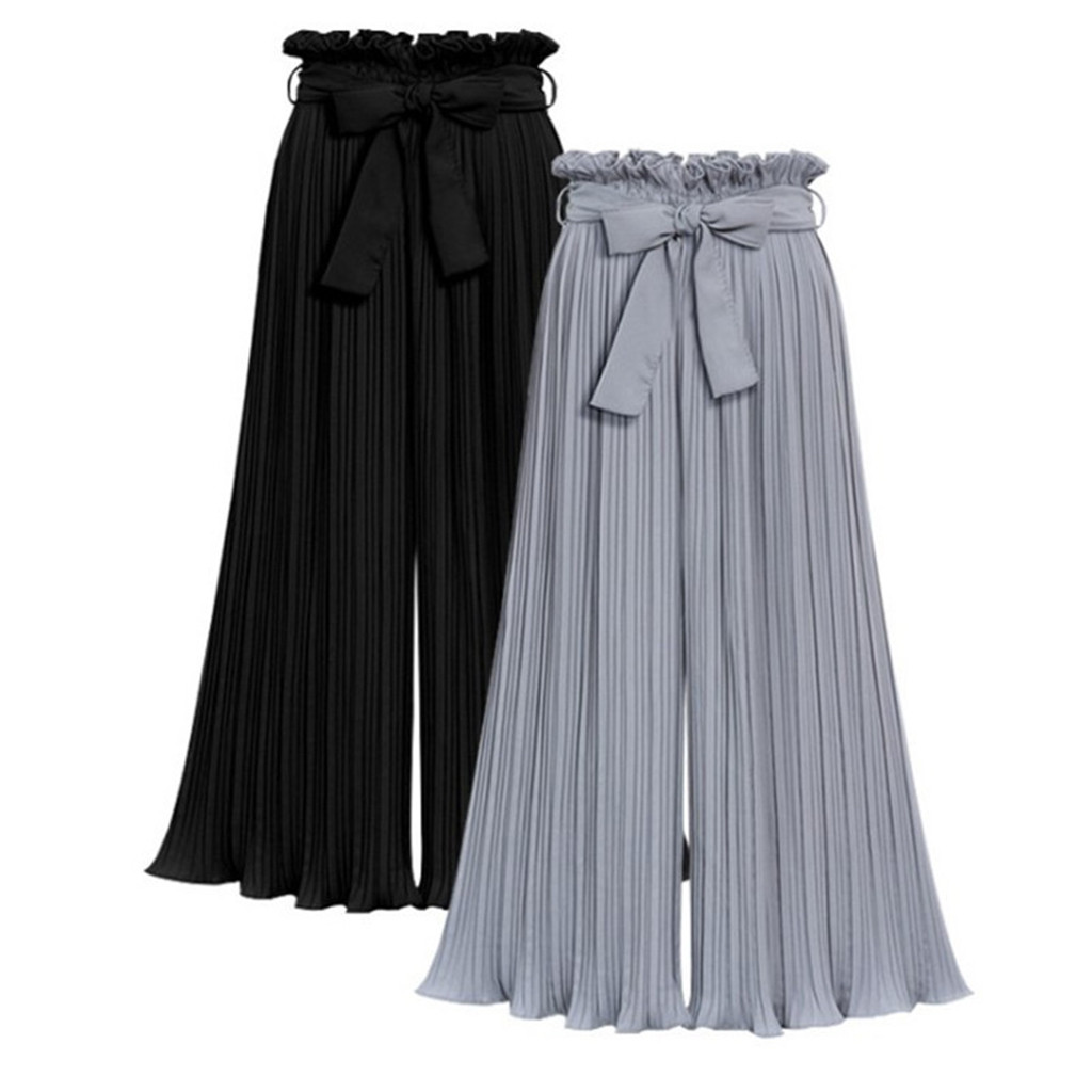 Pant Wide-Leg Summer Plus-Size Waist Casual Ladies New M-5XL Stylish Mode Loose Neue