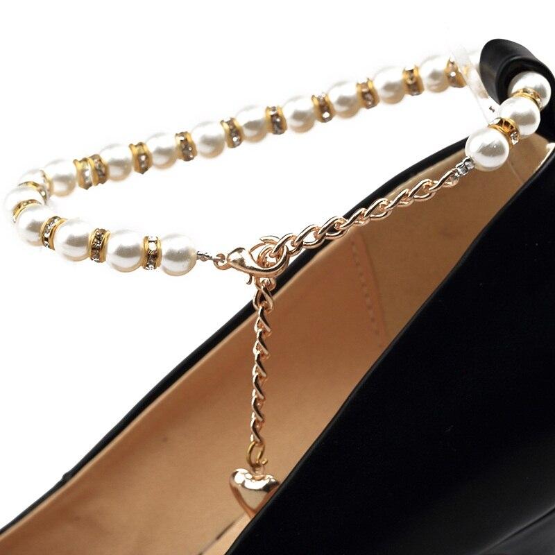 black Boucle Talons Respirant white Printemps Taille Grande De Perles Apricot Femme Égérie Chaussures Stiletto Pointu pink Pompes Hauts Bout qaCnHXw