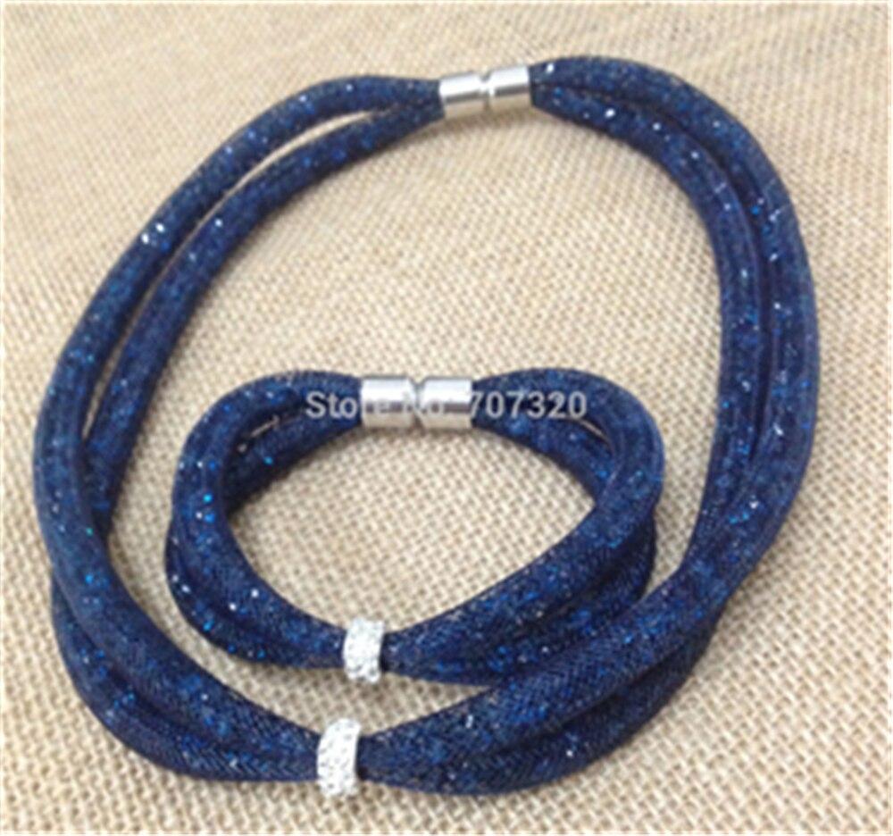 Šperky sada dárků módní svatební šperky sady OK transparentní křišťál letní styl šperky sady