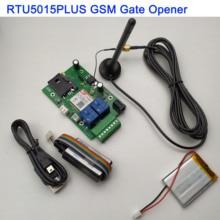Placa remota rtu5015 plus gsm, com duas entradas de alarme e saída de relé, chamada grátis e controle sms compatível rtu5024 com aplicativo