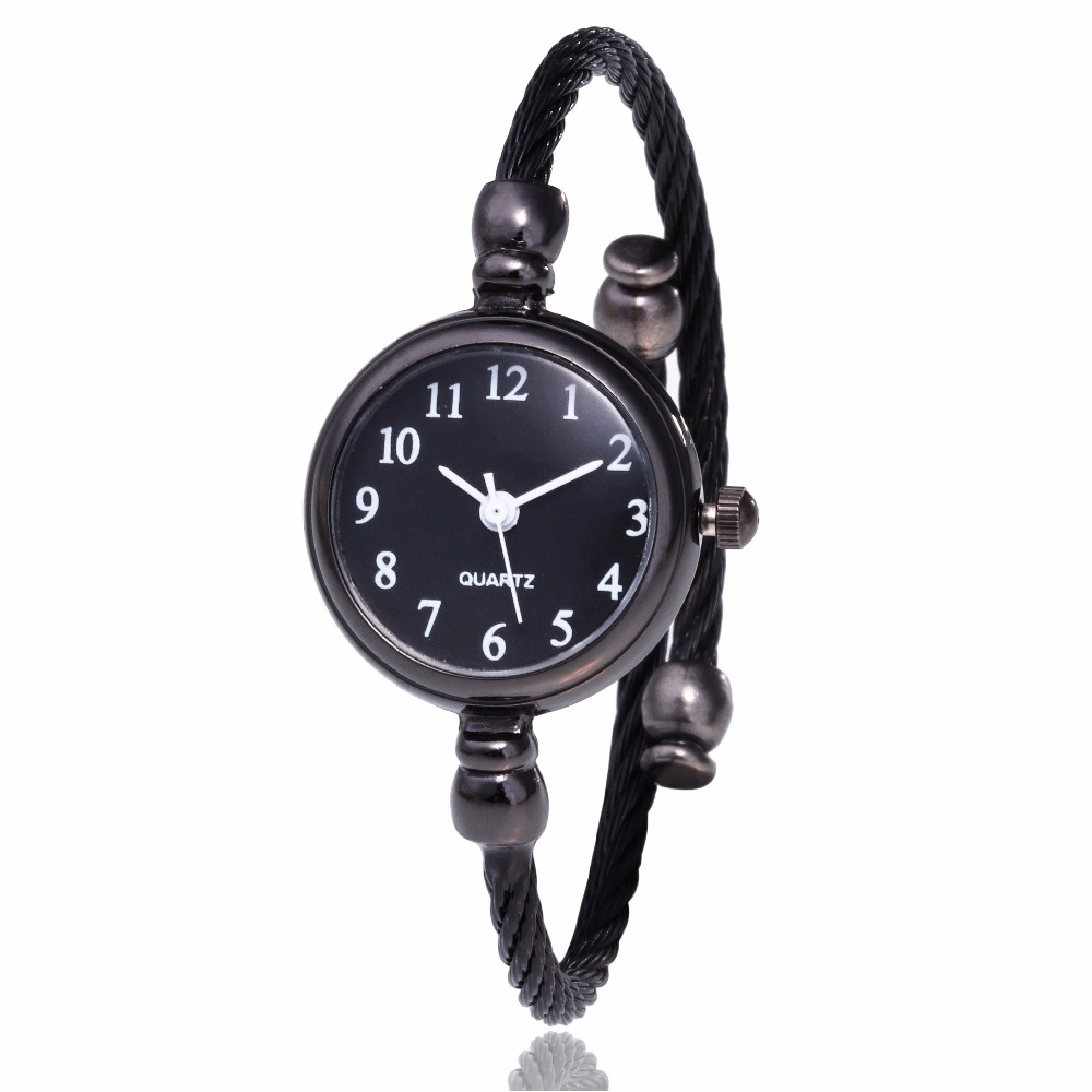 Simple Black Women Watches Elegant Small Bracelet Female Clock 2018  Fashion Brand Roman Dial retro Ladies Wristwatches GiftSimple Black Women Watches Elegant Small Bracelet Female Clock 2018  Fashion Brand Roman Dial retro Ladies Wristwatches Gift