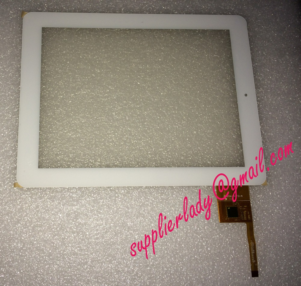 Original and New 9.7inch Touch Screen Digitizer Glass Panel Replacement A0206-A-F0-A A0206 White for tablet pc free shipping original new 10 1 inch touch panel for acer iconia tab a200 tablet pc touch screen digitizer glass panel free shipping