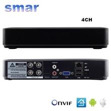 Smar Mini Hybrid 4CH 8CH AHDNH 1080N AHD DVR 5 IN 1 AHDM TVI CVI CVBS 1080P Security DVR NVR For AHDH CCTV Camera 5MP IP Camera