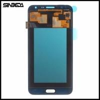 Sinbeda Brand New Black White Gold For Samsung Galaxy J7 2015 J700 J700F J700H LCD Display