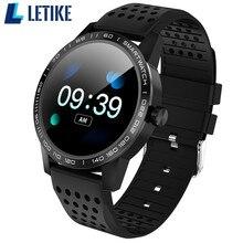 Letike IP67 Waterdichte T2 Smart Horloge Hartslag Activiteit Fitness Tracker Bluetooth Mannen Smartwatch voor iphone Android Telefoon