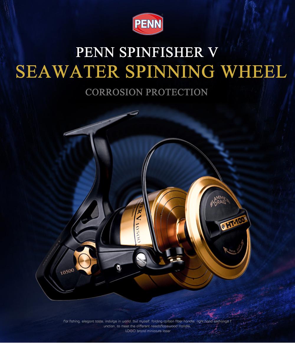 PENN SSV Spinfisher V Spinning Reel