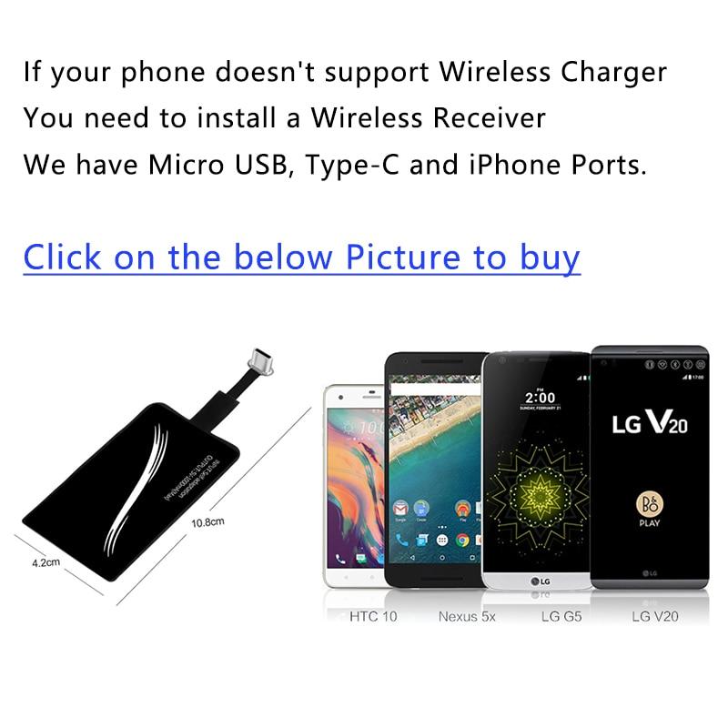 Almohadilla de carga del cargador inalámbrico CinkeyPro para iPhone - Accesorios y repuestos para celulares - foto 6