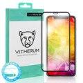 TURCHESE-Premium 3D Curvo Vetro Temperato per il iphone XR (telaio Nero)