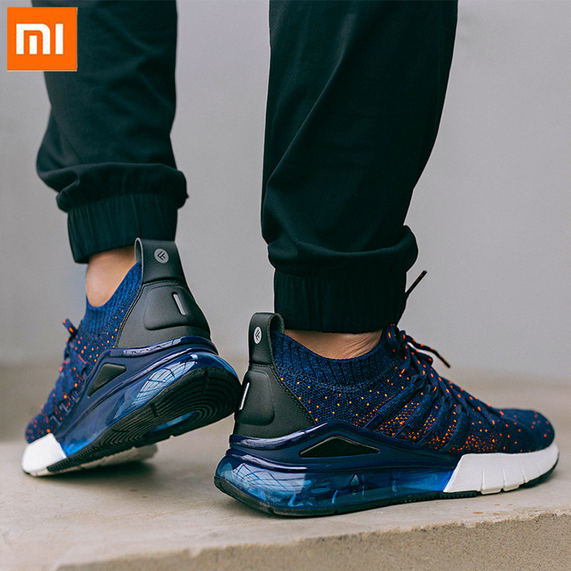 Xiaomi Mijia Freetie Air Cushion Sneakers High elastic Lightweight Professional Running Shoes Breathable Wearable for Men
