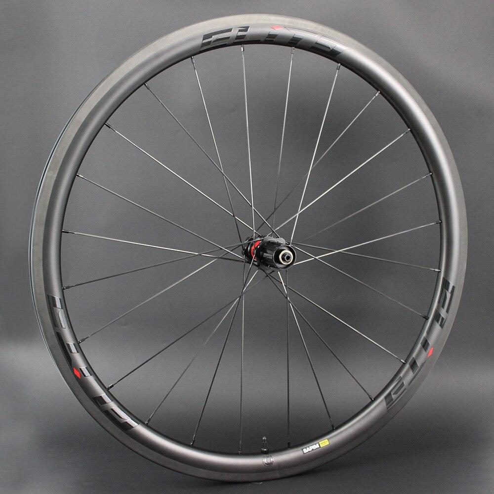 Elite REI DT Swiss 240S Roda De Bicicleta do Carbono 30 38 47 50 60 88mm 700c Bicicleta de Estrada Rodado tubular Clincher Tubeless Pronto