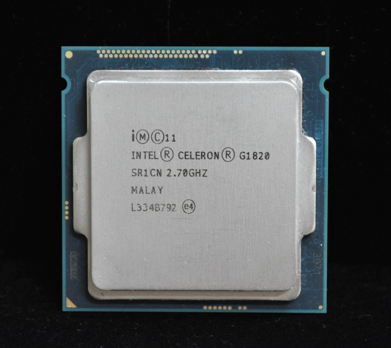 Intel Celeron g1820 2.7 ГГц 2 м Кэш двухъядерный Процессор процессор sr1cn LGA1150 лоток