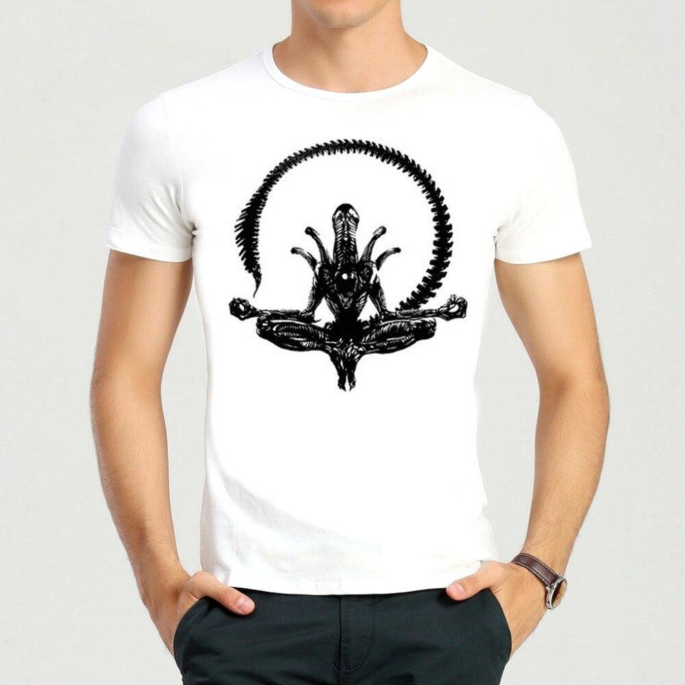 AVP T-shirt Short Sleeve White Color Fashion AVP Alien vs. Predator T Shirt Top Tee AVP tshirt For Men Women