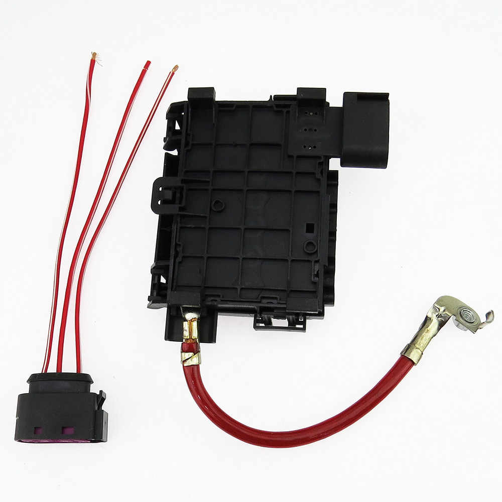 hight resolution of  scjyrxs battery fuse box plug cable for golf bora mk4 beetle a3 s3 seat leon