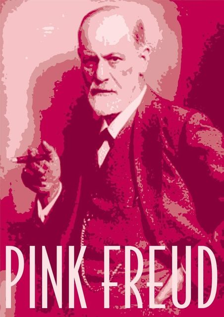 Mens T Shirt Pink Freud Funny Ideal Birthday Gift Or Present New