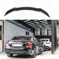Rowen style Carbon fiber rear trunk spoiler wing for Mercedes Benz w205 C205 w204 C63 AMG c250 c200