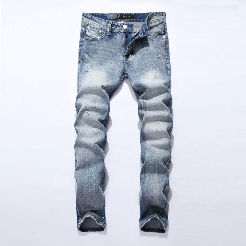 2017 New Dsel Brand   Jeans   Men Famous Blue Men   Jeans   Trousers Male Denim Straight Cut Fit Men   Jeans   Pants,whit   Jeans