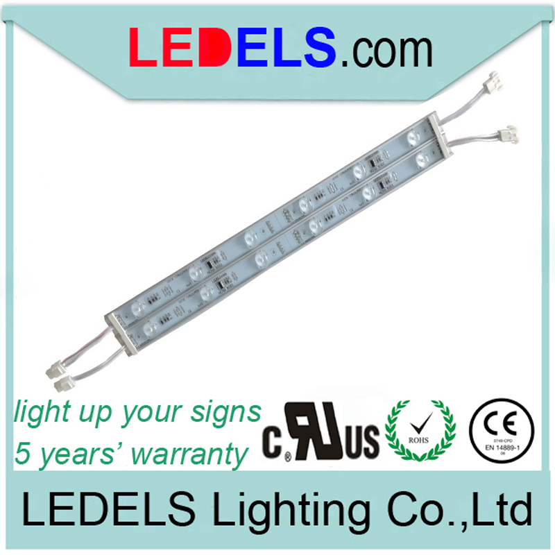 60pcs/lot,UL Listed CE ROHS approved,24v 7.2w 720LM 6leds rigid led light bar 24v dc