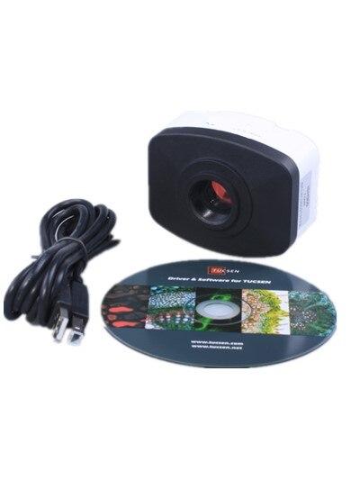 AMDSP 10M ISH CMOS Microscope caméra USB2.0 pour l'enseignement en laboratoire des caméras numériques