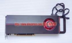 109-C07857-02 لوحة تمديد أصلية Radeon HD 5870 1GB (MC743ZM/A) لـ Pro A1186 Ma356 Ma970 A1289, 639-0676,639-0677,661-5719
