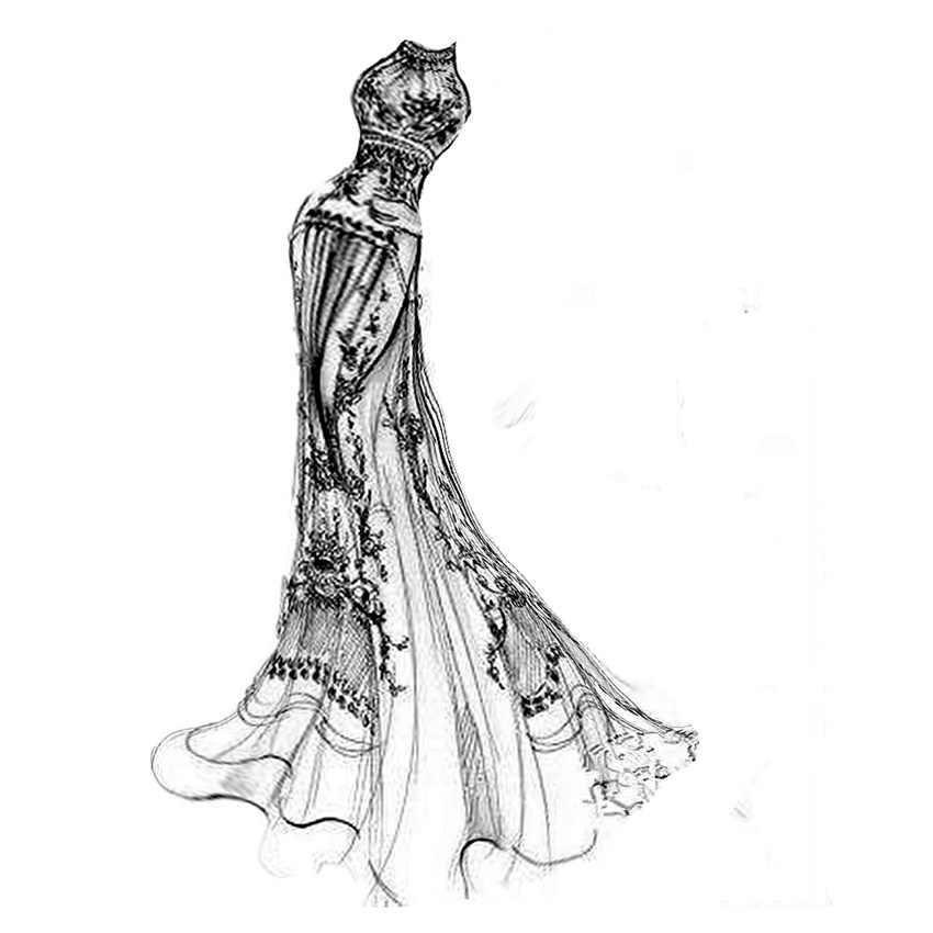 PANFELOU Cổ Điển Châu Âu wedding dress thủ công kim loại giấy chết cắt chết Scrapbooking/DIY Dập Nổi Valentine thẻ Ngày của