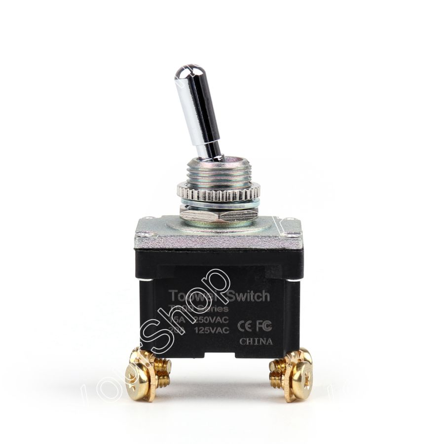 Areyourshop Rocker Toggle Switch ON-OFF DPST 4Pin Industrial Grade with Waterproof Car Truck 15A 250 250vac 15a 125vac 20a 4 pin 2 position dpst on off snap in rocker switch kcd2 201n