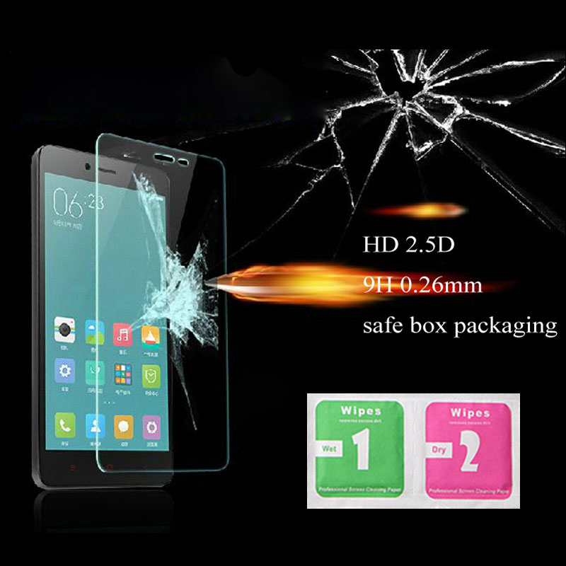 On sale! High Quality 0.3mm 2.5D 9H Tempered Glass film For Xiaomi A1 MI6 Redmi 3 4 4A 4X 5 5A Redmi Note 3 4 4X 5 5A
