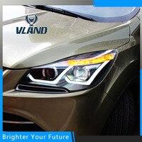 Car Lamp For Ford Kuga 2013 2014 2015 Headlight Headlamp Assembly