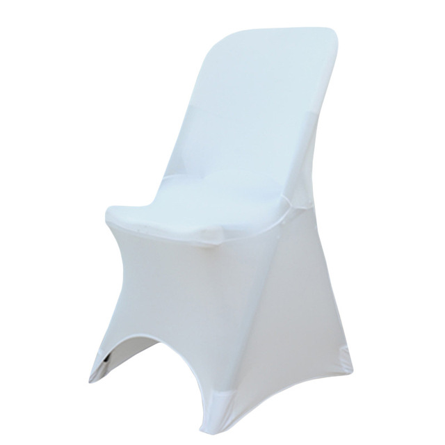 Awesome Us 12 57 Aliexpress Com Buy Folding Chair Cover White And Black For Folding Chairs Wedding Banquet Chair Cover Fundas Sillon Stoelbekleding Camellatalisay Diy Chair Ideas Camellatalisaycom