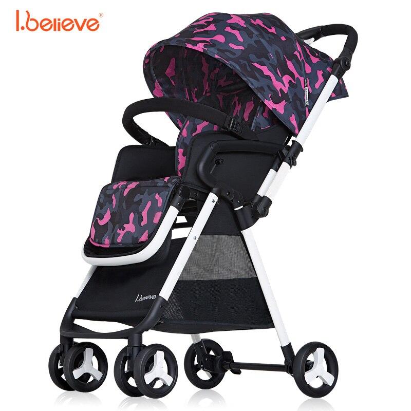 I.believe Baby Stroller I-S015 Sit&Lie High Landscape Portable Foldable Direction changable Pram Pushchai SGS certification sometimes i lie