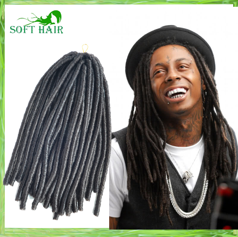 Dreadlocks Hairstyles For Men Free Shipping 1pc Soft Hair Products