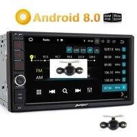Pumpkin Octa Core Android 8.0 Car Radio 2 Din 7'' Universal Car Stereo GPS 4GB RAM 32GB ROM Wifi 4G Radio Audio Player NO DVD