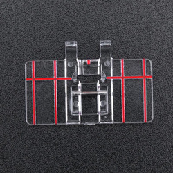 1pcs Plastic Parallel Sewing Machine Presser Foot for Household Darning Accessories -Drop