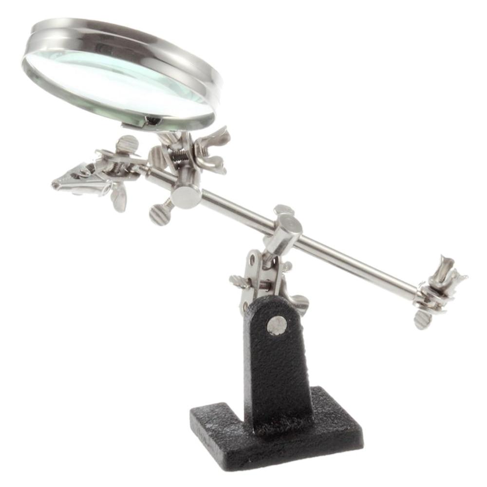 Lengvai nešiojamas trečiųjų rankų įrankių litavimo stovas su - Matavimo prietaisai - Nuotrauka 6
