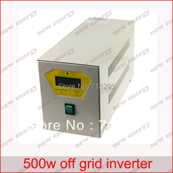 цена на 500VA 110/120/220/230/240VAC 50/60Hz Industrial Frequency off grid inverter / pure sine wave inverter for 24V battery