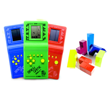 2019 Limited Direct Selling Zoomer Classic Handheld Game Machine Tetris Brick Kids Toy With Music Playback Without Battery